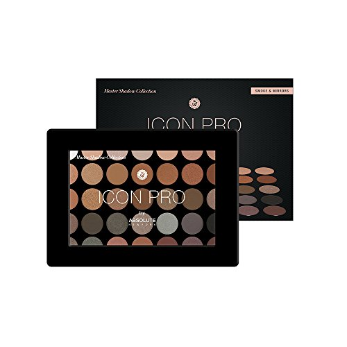 ICON PRO Eyeshadow Palette by Absolute New York Smoke & Mirr