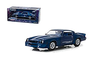 DIECAST 1:18 1981 Chevrolet Z28 YENKO Turbo Z (Blue) 13520 by Greenlight