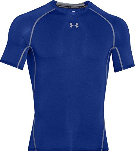 Armour Homme azul Heat T T Oscuro Under shirt Bleu Gear TqYdnZ
