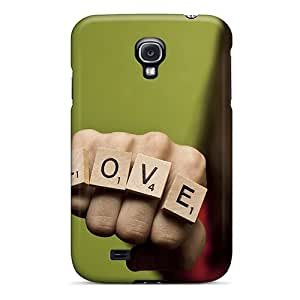 Awesome Design Love Fist Hard Case Cover For Galaxy S4