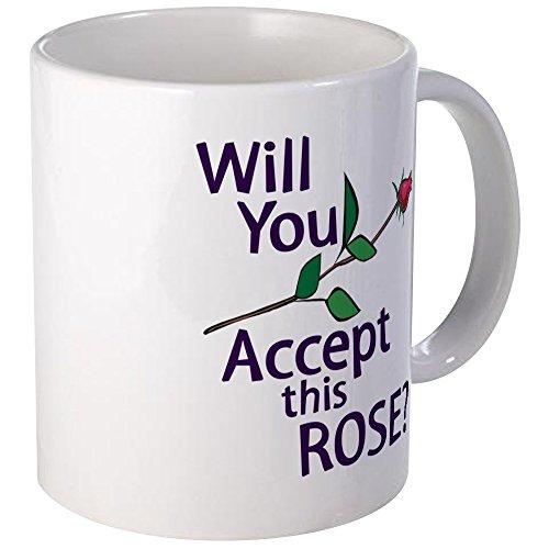 CafePress Will You Accept This Rose Mug Unique Coffee Mug, Coffee -
