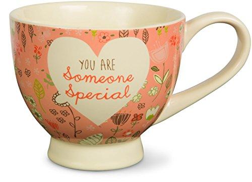 Pink Floral Soup Bowl - Pavilion Gift Company 54003