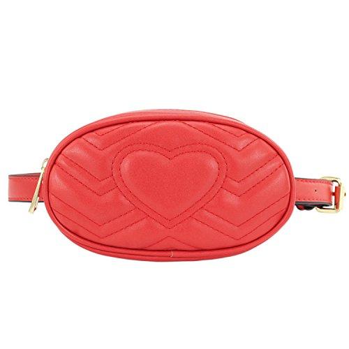 CMK Trendy Kids Fanny Pack Sylish Wasit Bag for Toddler Girls (CMK180104_RD)