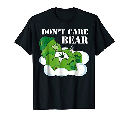 Funny Bear Don't Give A Freak T-Shirt ()