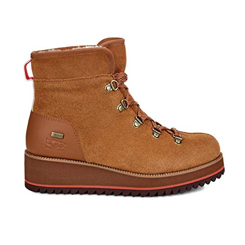 UGG Women's W Birch LACE-UP Boot Snow, Chestnut, 6, used for sale  Delivered anywhere in USA