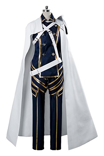 Costhat White Cape Fire Emblem Awakening Prince Chrom Combat Dress Outfit Armor Suit Cape Cosplay Costume