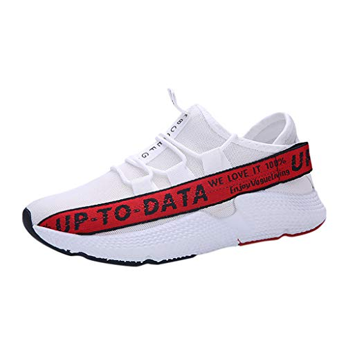 JJLIKER Mens Boys Fahion Walking Tennis Shoes Slip on Casual Fashion Breathable Mesh Sneakers (Polo Classic Tasche)