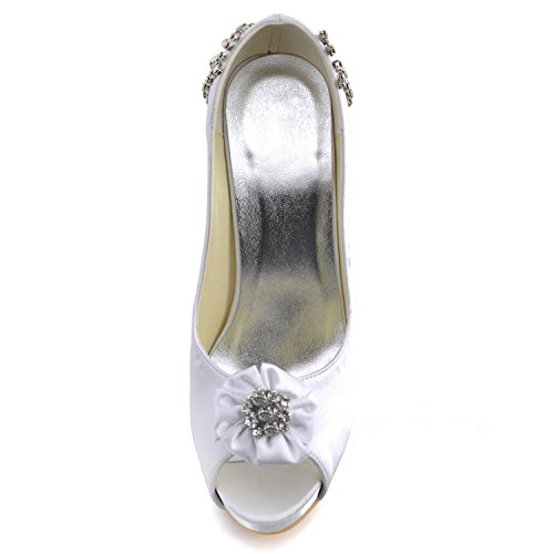 Kevin Fashion - Zapatos de boda fashion mujer Blanco - blanco