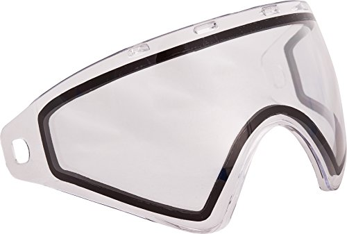 Protection Mask Clear Lens - Virtue VIO Replacement Paintball Goggle Lens - Fits Ascend / Contour / Extend and XS Masks - Thermal Clear