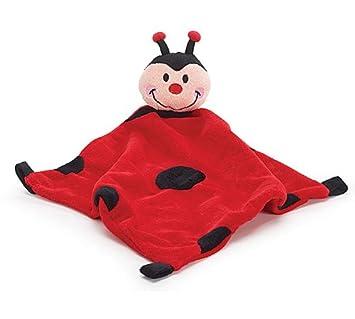 Amazon Com Adorable Ladybug Security Blanket With Attached Ladybug