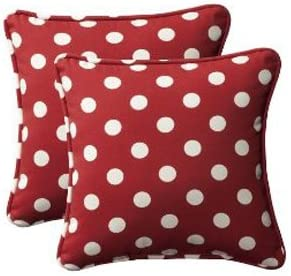 CC Home Furnishings Set of 2 Outdoor Patio SquareThrow Pillows 18.5""