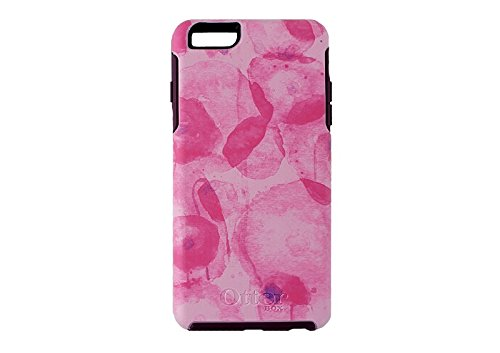 OtterBox Symmetry Cell Phone Case for iPhone 6 Plus - Retail Packaging - Poppy Petal