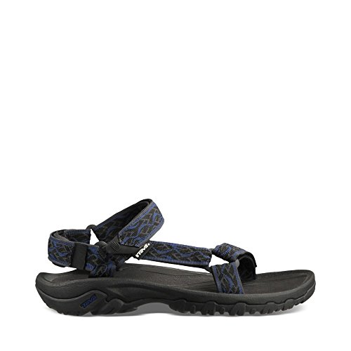Teva Men's Hurricane XLT Sandal,Wavy Trail/Insignia Blue,9 M US