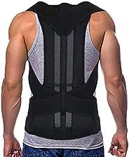 Posture Corrector for Women and Men Back Correction Waistcoat Therapy-Belt Back Support Belt Waist Brace Adjus