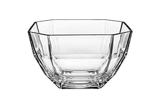 Barski - European - Glass - Deep -Octagon Serving Bowl - Salad bowl - Mixing Bowl - 8.5