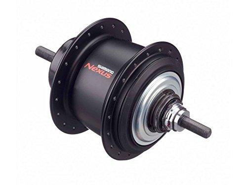 SHIMANO SG-C6001-8V 内装8S ブラック 32H OLD:132mm 軸長:184mm ローラーブレーキ取付の際は、左防水キャップユニットを外して下さい KSGC60018VBLA B0752TRYLS