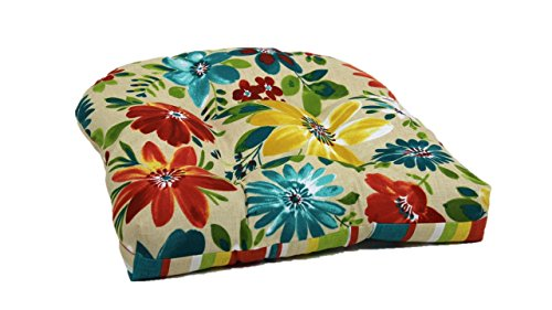 Brentwood Originals 35406 Indoor/Outdoor Chair Cushion, Piper Biscotti (Chair Cushions Brentwood)