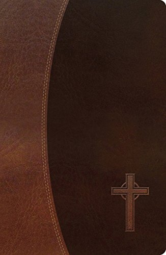 NKJV, Gift Bible, Imitation Leather, Brown, Red Letter Edition (Classic)