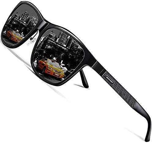 ROCKNIGHT Mens Driving Sunglasses for Women Sunglasses Polarized UV Protection Metal Frame Cool Sunglasses Outdoor Casual Sunglasses Hiking Travel
