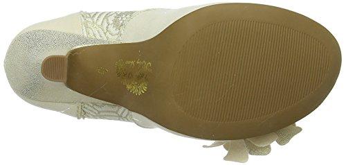 Tacón Cream Bianco Zapatos Shoo para Ruby hombre Emily De wnI1SaFqC