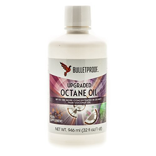 Bulletproof - Brain Octane Oil, Reliable and Quick Source of Energy (32 Ounce)