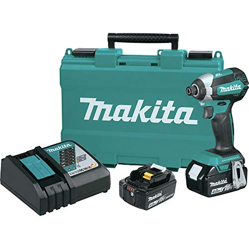 Makita XDT13M-R 18V 4.0Ah LXT Lithium-Ion Brushless Cordless Impact Driver Kit (Renewed)