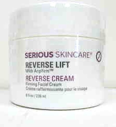 Serious Skincare Reverse Lift Firming Face Cream 8 oz Super Size~ 4X Normal Size