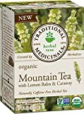 Traditional Medicinals Tea Mountain with Lemon Balm Organic, 16 ct