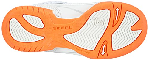 Hummel HUMMEL ROOT VELCRO JR - Zapatillas deportivas para interior de material sintético Niños^Niñas blanco - Weiß (White 9001)