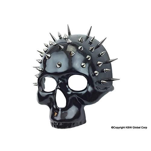 Novelty Masks & Weird Stuff Scary Skull Mask Spikes Raider Fans -