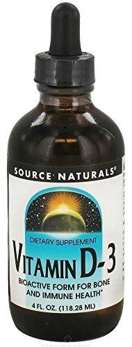 Source Naturals - Vitamin D-3 Liquid - 4 oz.