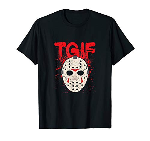 TGIF Thank God It's Friday Halloween Scary Movie Shirt -