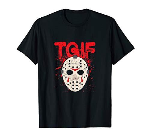 TGIF Thank God It's Friday Halloween Scary Movie Shirt