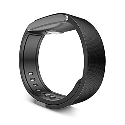 Yuntab V6 Voice Smartband Wireless Fitness Tracker Bluetooth 4.0 Pedometer Sports Watch Headphone Music Control Phone Call for Apple IOS and Android Device