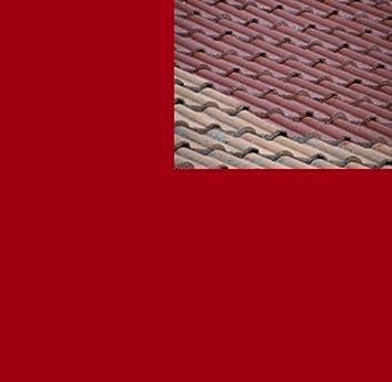 7,58EUR/L   5L Ziegelfarbe Dachfarbe Dachbeschichtung Dachversiegelung In  Tomatenrot Dachrenovierung Metalldach Blechdach