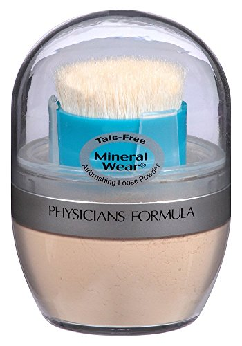 Physicians Formula Mineral Wear Talc-Free Mineral Airbrushing Loose Powder, Translucent Light, 0.35 oz.