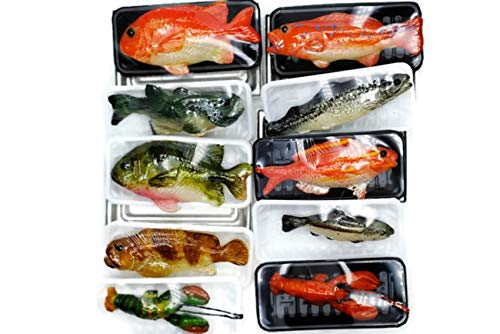 Mix Fresh Seafood Market Dollhouse Miniatures Food Kitchen No 16 by Cool Price