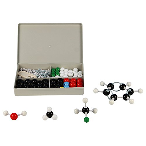 Molecular Model Kit - Premium Quality Set for Organic Chemistry - Color Coded Atom Collection - Science Kit (2 Model Set)