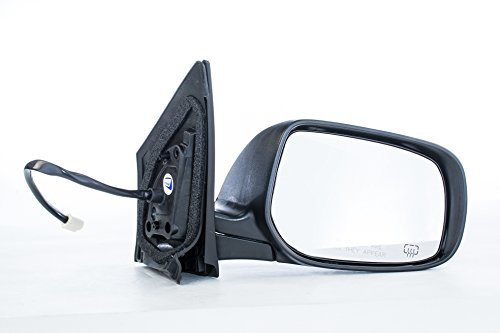 Dependable Direct Right Passenger Side Black Heated Manual Folding Door Mirror for Toyota Corolla (2009 2010 2011 2012 2013) (Corolla Toyota Mirror Door Oem)