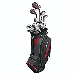Wilson Men's Pro Fit Complete Package Golf Set, Right Hand, Standard