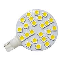 GRV T10 921 194 24-5050 SMD LED Bulb lamp Super Bright Warm White AC/DC 12V -28V Pack of 2