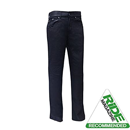Bull-It Ladies Oil Skin SR6 Motorcycle Jeans Pants Black Regular 31//W10