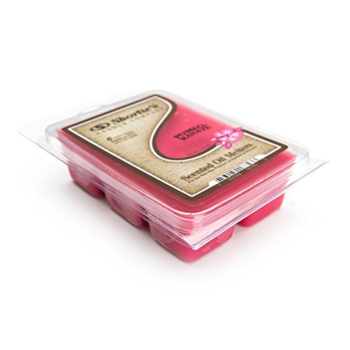 Warm Pomegranate (Pomegranate Wax Melts - Highly Scented - Similar to Yankee Candle Tarts or Scentsy Bars - 3 Oz. - Christmas Warmer Wax Cubes Collection)