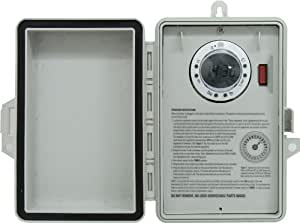 GE 15132 Double-Pole/Double-Throw 7-Day Digital Timer, Plastic