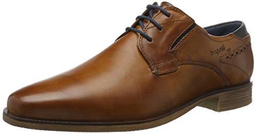 Bugatti 311251011100, Zapatos de Cordones Derby para Hombre Marrón (Cognac 6300)