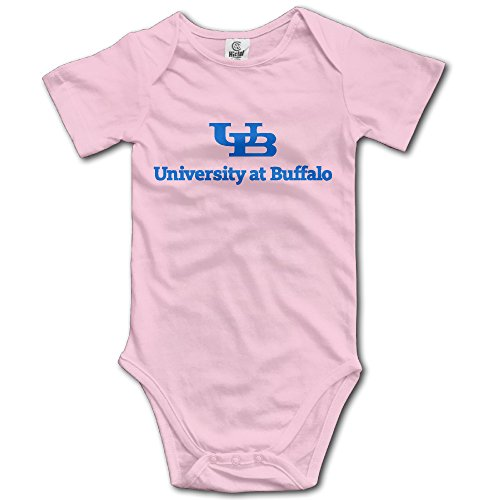 Price comparison product image OOKOO Baby's University At Buffalo Logo Bodysuits Pink 24 Months