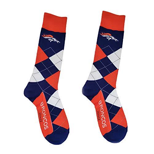 (Gloral HIF Denver Broncos Socks Unisex Crew Socks for Fans )