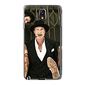 Anti-Scratch Hard Cell-phone Case For Samsung Galaxy Note3 (Mjx15631zAFw) Custom Trendy Red Hot Chili Peppers Image