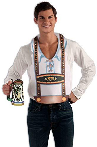 (Forum Novelties Men's Standard Oktoberfest Vest Male, Brown, Standard)