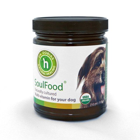 DR. DOBIAS SoulFood - Certified Organic multivitamin Dogs Made in The USA